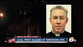Local priest accused of violently attacking wife, kidnapping and assaulting her - Video