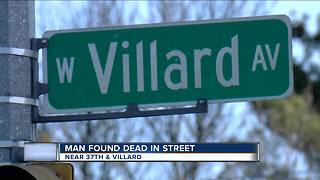 Man found dead on Milwaukee's north west side - Video