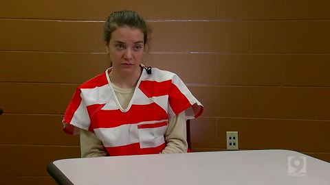 Raw video: Shayna Hubers talks to WCPO from jail