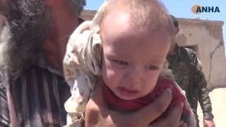 Dozens of Civilians Evacuated From Islamic State's De Facto Capital - Video