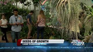 Botanical Gardens will work to buy land for expansion - Video