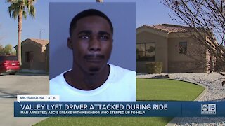 Valley Lyft driver attacked during ride