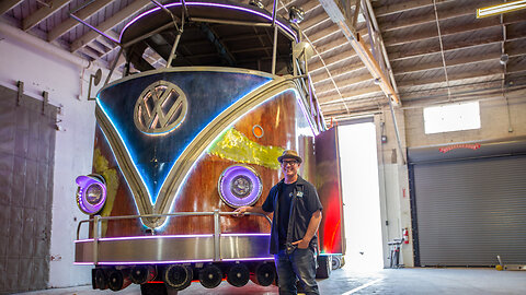 The Giant 13Ft High VW Party Bus | RIDICULOUS RIDES
