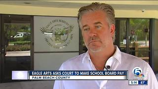 Eagle Arts Academy asks court to make school board pay its July funds - Video
