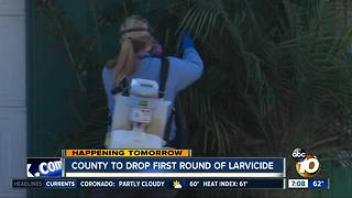 County to drop first round of larvicide