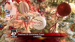 """Glitzy Christmas Trees Featured in """"Festival of Trees"""""""