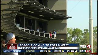 TopGolf aims to open in Fort Myers - Video