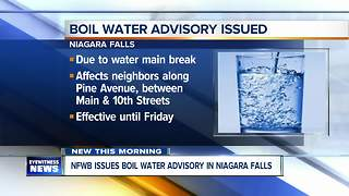 Residents in Niagara Falls neighborhood advised to boil water - Video