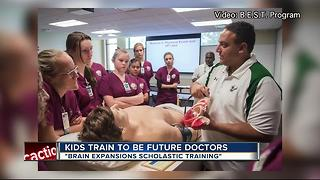 Florida Hospital summer academy helps train Tampa Bay area students to be future doctors - Video