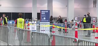 Look inside Las Vegas Convention Center vaccine clinic