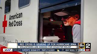 American Red Cross gears up for disaster relief in the wake of Hurricane Irma - Video