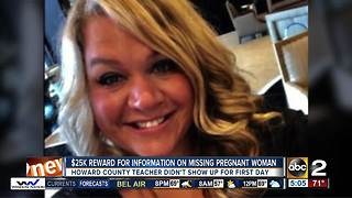 Father offers $25K reward for information on missing pregnant teacher - Video