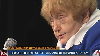 Holocaust survivor and a teacher's play about her life inspires others around Kansas City - Video