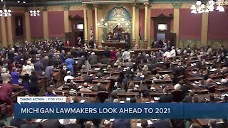 Michigan lawmakers look ahead to 2021