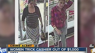 Women accused of tricking 7-Eleven cashier out of cash, money orders - Video