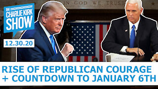 The Charlie Kirk Show - The Rise of Republican Courage and the Countdown to January 6th