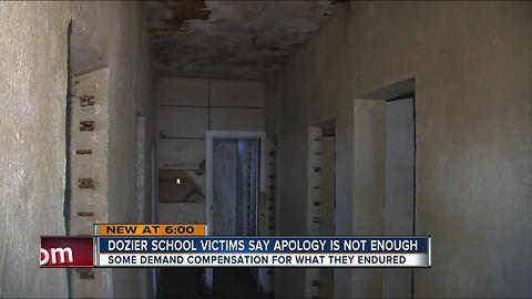 Dozier School victims say apology is not enough