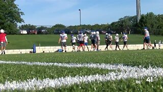 Rockhurst High School preparing for football season during pandemic