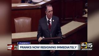 Trent Franks resigns immediately after aide accusations - Video
