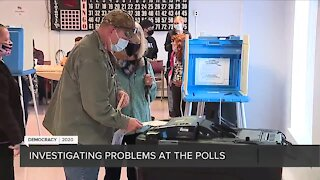 Investigating problems at the polls in metro Detroit