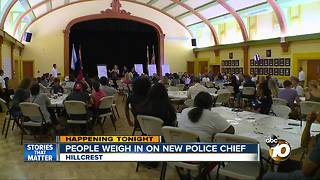 People weigh in on new police chief - Video