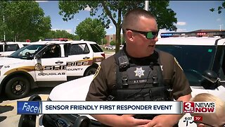 Sensory-friendly first responder event