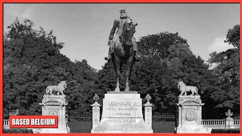 King Albert I reveals statue of Belgium's most important King, 'Leopold II, The Great' in Brussels