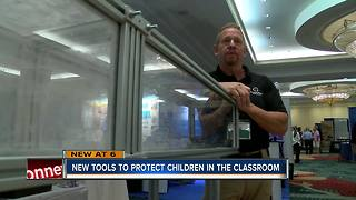 New technology aiming to keep kids safe in Florida schools - Video