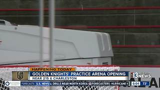 Vegas Golden Knights celebrate opening of practice facility - Video