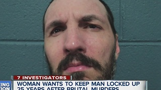 Woman wants to keep man locked up 25 years after brutal murder - Video