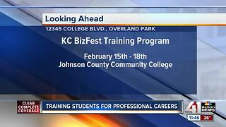 KC high schoolers getting head start on professional careers - Video