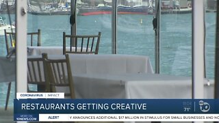 Restaurants get creative under indoor restrictions