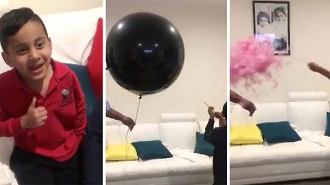 It's a girl! – Three brothers ecstatic to find they finally have a sister