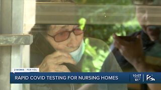 Rapid COVID-19 testing for nursing homes