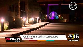 Police: Man dies after assaulting parents in Scottsdale - Video