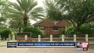 Ulele worker who handled food tests positive for Hepatitis A in Feb. 2019