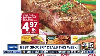 Best deals at the grocery store this week - Video