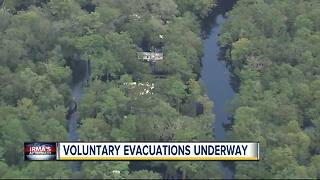 Voluntary evacuation order in effect for select Pasco County residents - Video