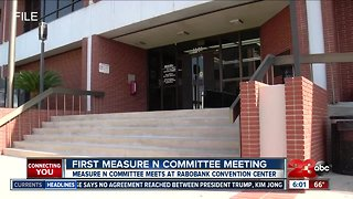 Measure N committee meets for the first time