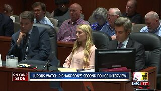 Richardson trial: Jurors watch second interview with police