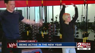 Commit 2 Be Fit: Being Active in the New Year - Video