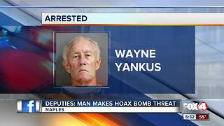 Suspect arrested in bomb threat - Video