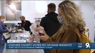Cochise County votes against mask requirement