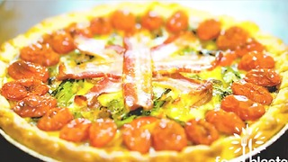 Bacon & Egg Quiche - Video
