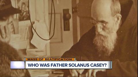 Who was Blessed Father Solanus Casey?