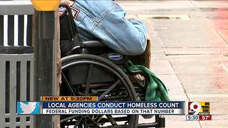 Local agencies conduct homeless count Tuesday - Video