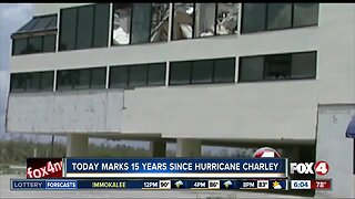 Today marks 15 years since Hurricane Charley