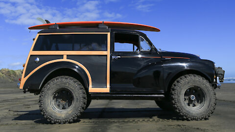 Morris Minor Converted To 4x4 Off-Road Beast | RIDICULOUS RIDES