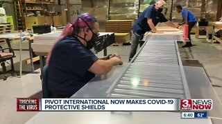 Pivot International making COVID-19 protective shields