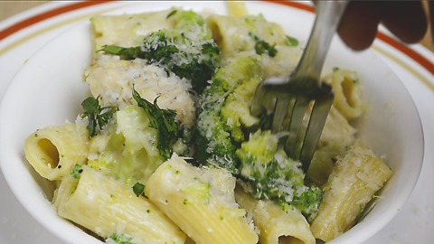 How to make home-style Chicken Broccoli Alfredo